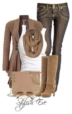 """""""Alaa."""" by stylisheve ❤ liked on Polyvore featuring Lipsy, Soaked in Luxury, Valentino and H&M"""