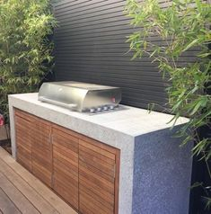 Barbecue installed ready to be enjoyed Elwood project - Garten küche, outdoor kitchen, backyard BBQ - Kitchen Outdoor Bbq Kitchen, Backyard Kitchen, Outdoor Kitchen Design, Outdoor Kitchens, Out Door Kitchen Ideas, Backyard Barbeque, Outdoor Barbeque Area, Bbq Grill, Barbecue Area