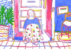 Stay at home by julibakerandsummer
