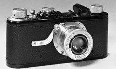 The Leica 1, 1925, the world's first 35mm camera