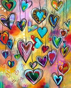 PNC Diamond Painting Enthusiasts has members. Our group is for 💎Diamond Painting ENTHUSIASTS of all types and skill levels. Art Journal Pages, Art Journals, Art Fantaisiste, Heart Painting, Love Painting, Painting Walls, Painting Quotes, Arte Pop, Art Journal Inspiration