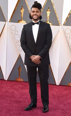 """Oscars 2016: The Weeknd performed his Oscar nominated song that was featured in the movie """"Fifty Shades of Grey,"""" This is the Weeknd's first Academy Awards nomination for Best Song."""