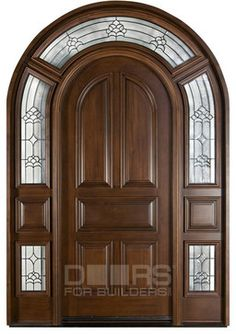 A girl can dream. Classic Collection (Custom Solid Wood Doors) - front doors - chicago - Doors For Builders Inc Arched Doors, Entrance Doors, Windows And Doors, Grand Entrance, Front Doors, Dream Home Design, House Design, Classic Doors, Main Door Design
