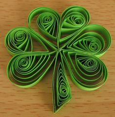Marissa does quilling and plans to make me this....:)