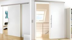 Custom Interior Doors, Luxury Hardware & Interior Library Ladders By Premium German Manufactures. Hanging Room Dividers, Sliding Room Dividers, Room Divider Curtain, Modern Interior Design, Contemporary Design, Bookshelf Room Divider, Pivot Doors, Types Of Rooms, Modern Door