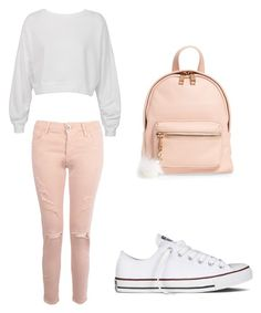 """Untitled #24"" by winiffet on Polyvore featuring Sans Souci, Boohoo, Converse and BP."