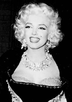 Marilyn Monroe at the Ringling Bros Circus for the Arthritis & Rheumatism…