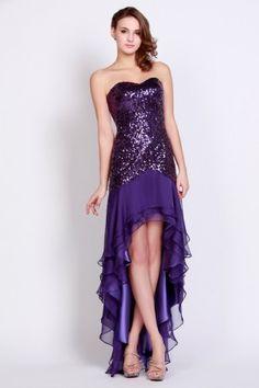 6a9fbb76d 30 mejores imágenes de vestidos color morado