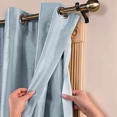 "Insulated Curtain Liner - 56"" - Improvements by Improvements. $24.99. Hotel-quality blackout curtain liners also help protect carpets and furniture from sun fading. If you like the curtains you have but wish they were more energy efficient, simply add an Insulated Curtain Liner. Insulated Curtain Liner can be used with grommet panels, pinch pleat drapes, tab tops, and tailored panels. If you like the curtains you have but wish they were more energy efficient, simply..."
