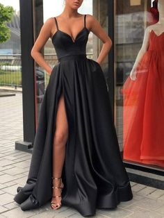 long prom dresses Two Piece Do You black prom dresses long satin formal evening gowns Fashion dresses 2019 Party formal dress mermaid prom dresses Senior Prom Dresses, Black Prom Dresses, Satin Dresses, Elegant Dresses, Sexy Dresses, Evening Dresses, Fashion Dresses, Graduation Dresses, Long Dresses