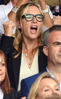 Kate Winslet Steals the Wimbledon Spotlight With Her Wild and Hilarious Faces?Take a Look! | E! Online Mobile