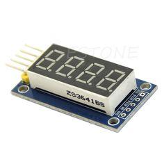 4 Bit Kỹ Thuật Số Ống LED Hiển Thị Module Bốn Serial đối với Arduino 595 Điều Khiển