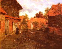 Thaulow,Fritz  (1847-1906)