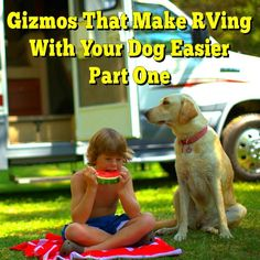 Gizmos That Make RVing With Your Dog Easier Part One: There are all sorts of travel gadgets available for dogs to make even the most gizmologically infatuated... Read More: http://www.everything-about-rving.com/Gizmos-That-Make-RVing-With-Your-Dog-Easier-
