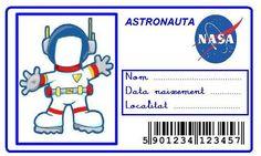 Resultado de imagen de projecte astronautes educacio infantil