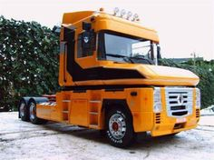 RENAULT Trucks Only, New Trucks, Cool Trucks, Semi Trailer Truck, Customised Trucks, Trailers, Buses, Volvo, Cars And Motorcycles