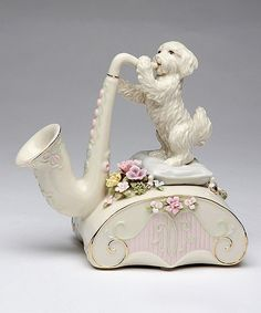 CANON IN D SNOOPY HAND CRANK MUSIC BOX