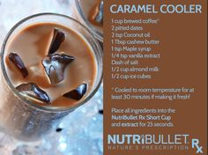Seems like Summer isn't quite done! Create this tasty caramel Blast and stay cool! #nutribulletrx