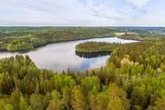Lake view from the lookout tower of Aulanko in Finland - Teemu Tretjakov Finnish Language, Lookout Tower, I Want To Travel, Home Pictures, Lake District, Lake View, Helsinki, Fine Art Photography, Finland