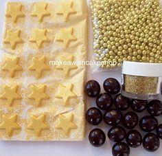 Nigella's Christmas Chocolate Fruit Cake Decorating Kit - Gold Stars, Coffee Beans, Gold Balls &Edible Glitter Christmas Shop http://www.amazon.co.uk/dp/B00PDYN26M/ref=cm_sw_r_pi_dp_xvHswb150ZNTF