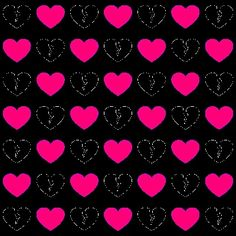Heart Wallpaper, Love Wallpaper, Wallpaper Backgrounds, Phone Wallpapers, Wallpaper Keren, Heart Patterns, Heart Shapes, Cool Pictures, Red Daisy