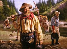 """er mundo de manué"": ALFREDO RODRIGUEZ, obras, cuadros, pinturas. American Indian Art, Mexican American, Native American Art, American Indians, Mexican Art, Cowboy Hats, Westerns, Gold Miners, West Art"