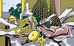 Roy Lichtenstein, Still Life with Net, Shell, Rope and Pulley, 1972