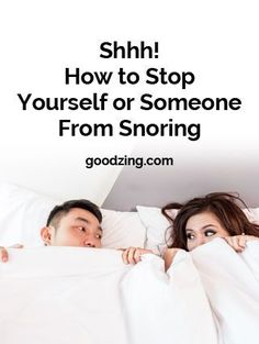 Find the best home remedies and devices to help you or someone stop snoring. #thedangersofsleepapnea