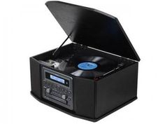 Vitrola TEAC GF-550 CD Fita Cassete USB - Rádio AM/FM