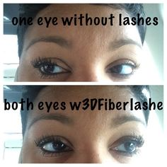These 3D fiber lashes are amazing! You have  to try them! Go to www.EyesLipsandLashes.info