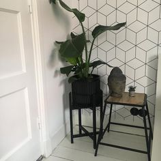 Behang Anki   Kwantum Diy Apartment Decor, Interior Decorating, Interior Design, Living Room Inspiration, Home Improvement, Daisy, Furniture, Rotterdam, Home Decor