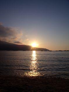 Sunset - Procchio beach