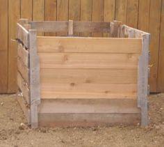 DIY Pallet Compost Bin  Easy Homesteading