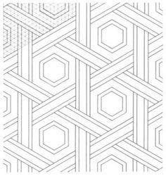 Geométrica - Desenho Geométrico - Padrões Geométricos Isometric Art, Islamic Art Calligraphy, Drawings, Design, Geometric Drawing, Pattern Drawing, Groomsmen, School, Arab World