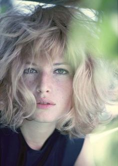 Monica Vitti. Cinecitta, Rome, 1960 © Willy Rizzo.