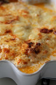 Ostgratinerad kycklinggratäng - Jennys Matblogg Snack Recipes, Dinner Recipes, Dessert Recipes, Snacks, Pumpkin Recipes, The Best, Macaroni And Cheese, Chicken Recipes, Good Food