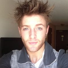 Drew Chadwick his eyes are almost as beautiful than his soul.