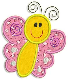 Adorable Applique  butterfly applique