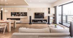 新竹 35 坪紓壓北歐風公寓 - DECOmyplace Japanese Living Rooms, Big Living Rooms, Living Room White, Home Living Room, Apartment Interior Design, Interior Design Living Room, Living Room Designs, Muji Home, Small Room Design