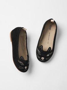 03f58d42846 Cat Ballet slippers - Baby gap Toddler Girl Halloween