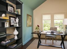 how to re-do your home office by Melissa Boyer