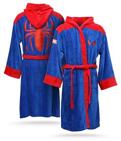Marvel Spider-Man Terry Cloth Blue and Red Robe Marvel Dc, Marvel Comics, Spiderman Marvel, Best Superhero, Amazing Spiderman, Swagg, Avengers, My Style, T Shirt