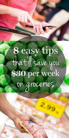 These small steps will help you save $30 on your grocery bill each week