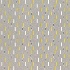 Grey Yellow 210205 Wrappings Collection Sanderson Wallpaper for sale Yellow Bathroom Rugs, Bathroom Rug Sets, Bathroom Wallpaper, Hallway Wallpaper, Hall Bathroom, Wallpaper For Sale, New Wallpaper, Fabric Wallpaper, Wallpaper Ideas