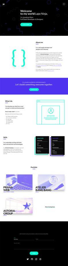 Jonathan Dion - Full Stack Developer & Designer