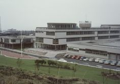 Balwearie High School (1960-64) in Kirkcaldy, Scotland, by Fife Regional Council Architectural Services
