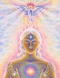 bask in the purifying energy of the crown and let your higher self inform your day
