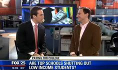 Our editor-in-chief Dean was on #FOX25 news recently talking about applying to #college. His advice? Be fearless and reach! Watch the video here.