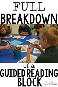 A full breakdown of a guided reading block A how to about conducting a guided reading lesson Lesson ideas reading lessons literacy centers literacy stations word work act. Reading Stations, Writing Station, Guided Reading Lessons, Guided Reading Groups, Reading Skills, Math Lessons, Guided Reading Activities, Reading Logs, Guided Reading