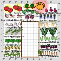 Garden Plan 2013 Campus Grow Community Garden Plot Garden
